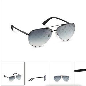 LV The Party monogram mirrored lenses sunglasses